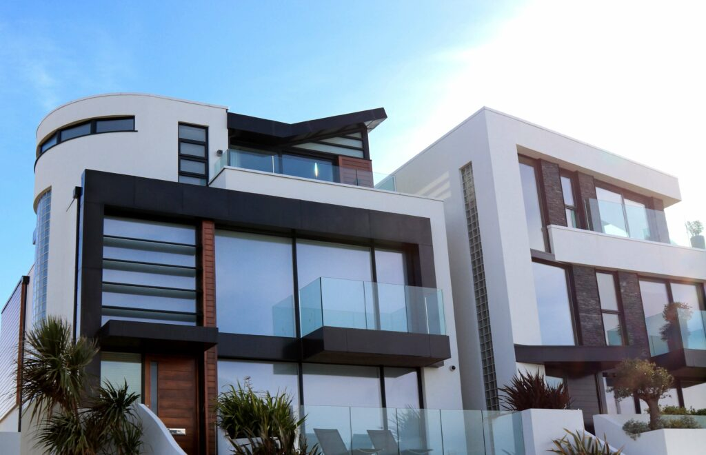 how to identify modern style homes with its exterior