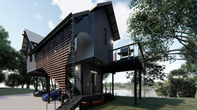 River Shack House