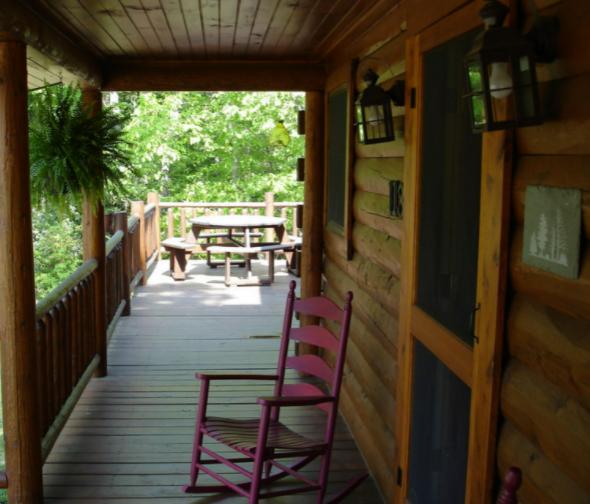 Custom Log Cabin House