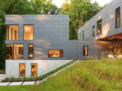 The Split Box House